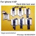 7 en 1 HDD disco duro soporte de accesorio de la prueba Para el iphone 4 4S 5 5S 5C 6 6 P Nand Flash Herramienta Tester para probar la calidad del disco duro