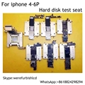 7 in 1 HDD hard disk test fixture stand For iphone 4 4S 5 5S 5C 6 6P Nand Flash Tester Tool to test the quality of the hard disk