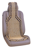 Auto Car Vehicle Wood Beaded Seat Cushion Massage Comfort Relax Beaded Massage Seat Cover 1PC