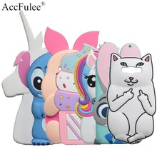 Cute Rabbit Horse Case For Samsung Galaxy J7 Neo / J7 Nxt / J7 Core J701 J701 J701F Cat Cover Stitch Pig Soft Phone Shell(China)