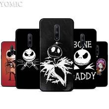 jack skellington Silicone Case for Oneplus 7 7Pro 5T 6 6T Black Soft Case for Oneplus 7 7 Pro TPU Phone Cover