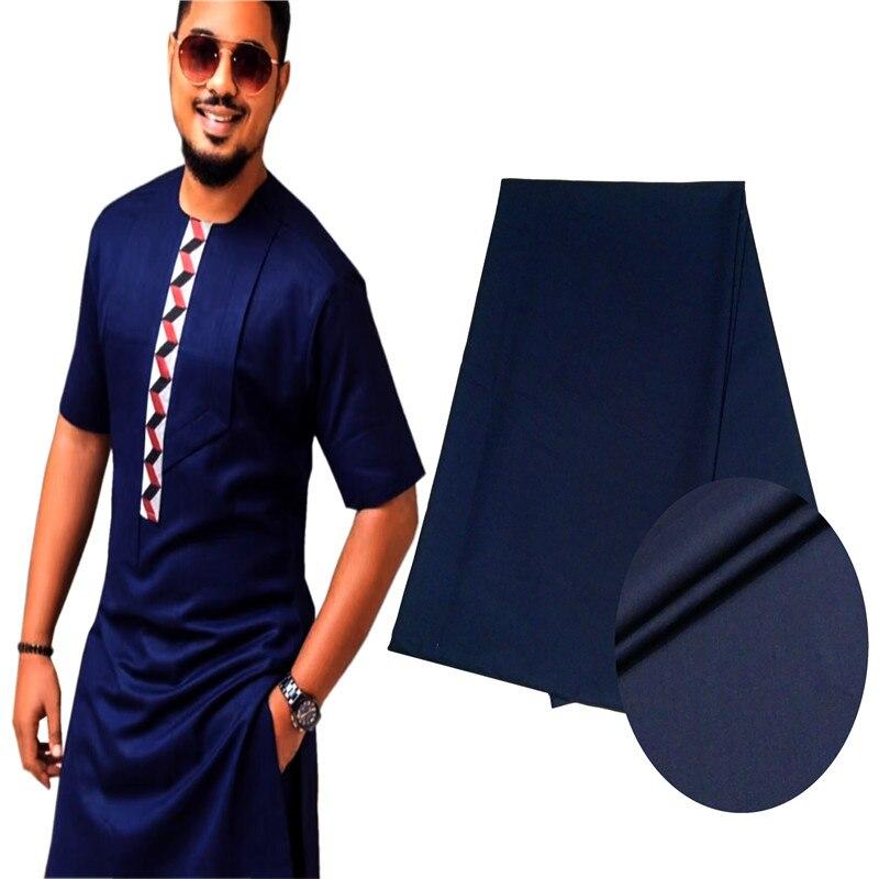 10 mètres TR Matériel Pour Hommes Tissu Hommes Africains Africain Agbada Doux TR Tissu avec Haute Qualité Hommes Matériel pour homme Vêtement SMT11