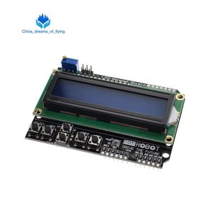TZT 1PCS LCD Keypad Shield LCD1602 LCD 1602 Module Display For Arduino ATMEGA328 ATMEGA2560 raspberry pi UNO blue screen(China)