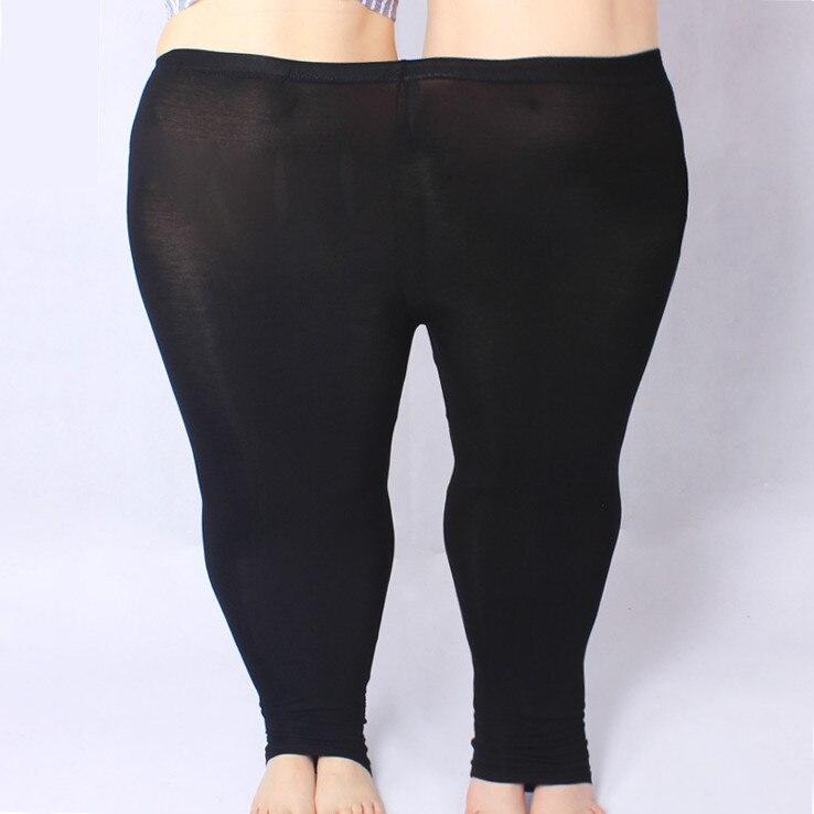 93b7328f2b KSDKFAA Women Pants 2018 Plus Size 5XL Skinny Slim Elastic Waist Pencil  Pants High Strenchy Modal