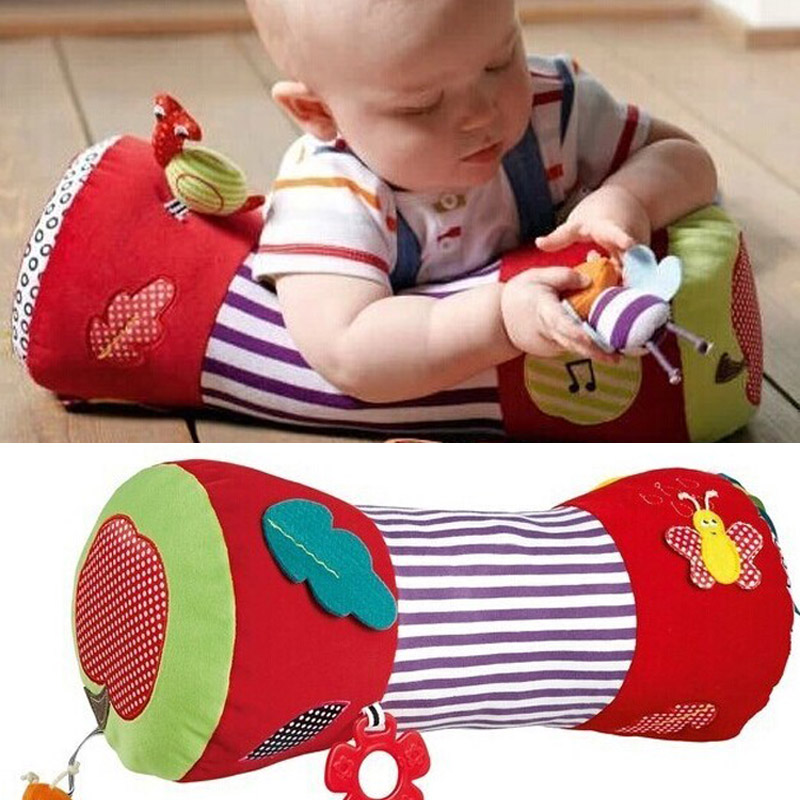 Musical Baby Toys Teether Kids Mobile Infant Toy Rattle Pillow Climb For 0-12 Months -- BYC014 PT49 Wholesale jollybaby baby lion toys rattle stroller toys hanging newborn mobile infant crib plush revolves around with teether