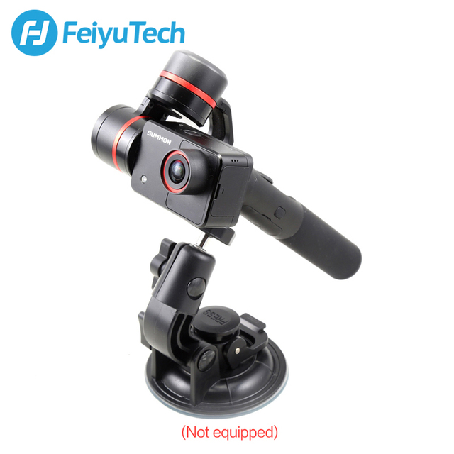 FeiyuTech Feiyu Summon Plus 3-Axis Handheld Gimbal Brushless Camera Stabilizer 2.0 Inch Display Stabilized with 4K Action Cam