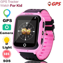 Kids GPS Tracker Watch Flashlight Child Camera Touch Screen SOS Call Location Baby Positioning Watches Smart Wristwatches Q529 2018 new kids watch gps tracker 3g network sos call location wifi 1 4 inch touch screen camera baby watches smart clock td07s