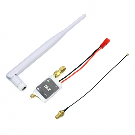 2.4G Radio Signal Amplifier Remote Control Signal Booster for RC Model Helicopters Aircraf