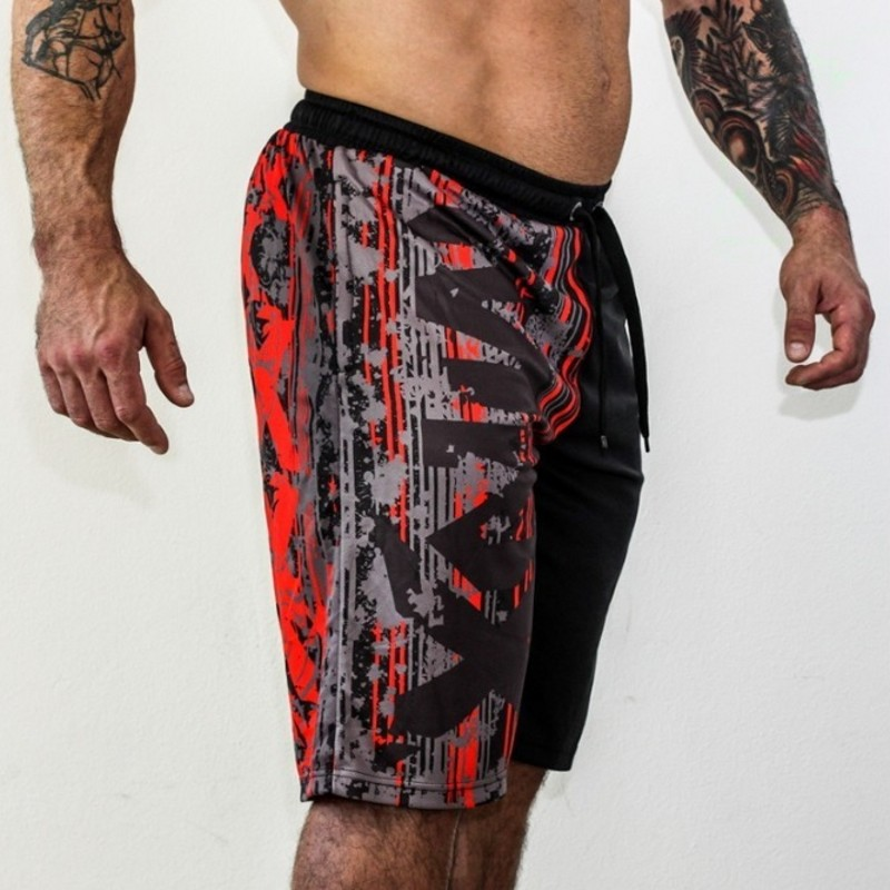 8e537808f82c Männer Shorts Marke Fitness stretch Knie Shorts Berufs Atmungsaktiv ...