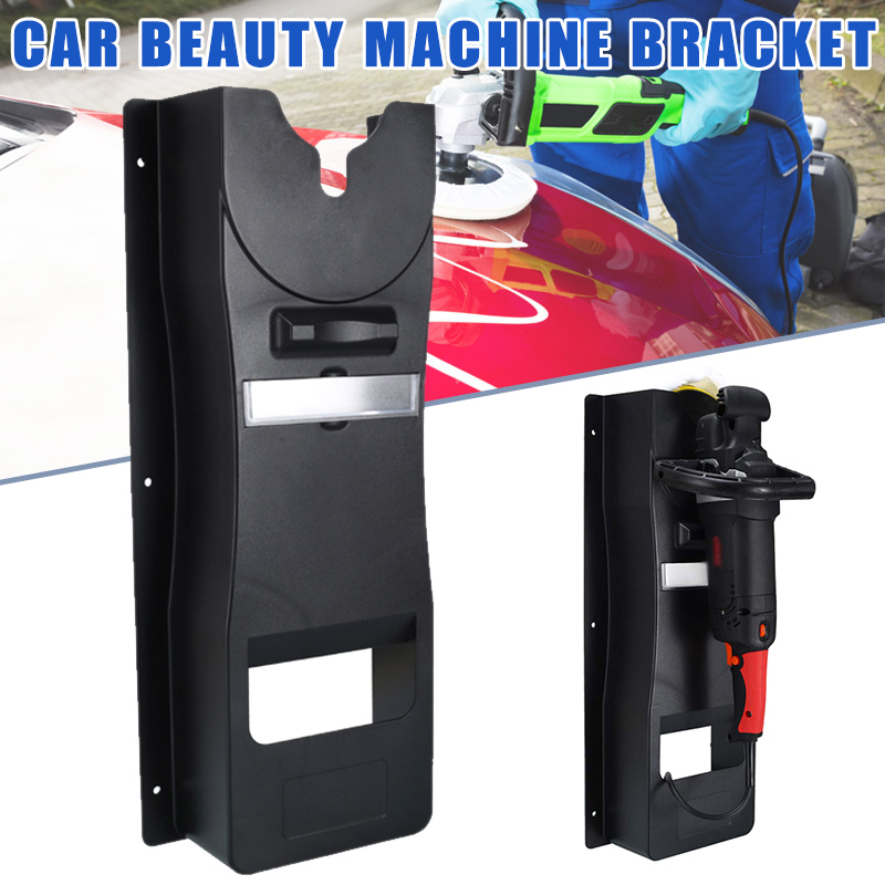 Hot Car Polisher Holder Wall Mount Station Car Care Waxing Machine Bracket BX