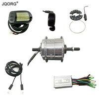 JQORG Передняя двигатель колеса для вождения 36 В 250 Вт преобразования электрических Наборы горный велосипед Ремонтирует к Электрический вело