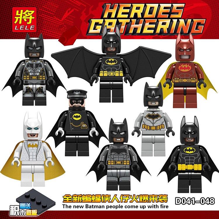 Dc Hero Batman Hero Assemble Figure DIY Toy Figure Building Blocks Figure Bricks Compatible With Bela