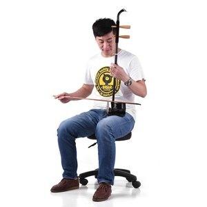 Image 2 - Dark Erhu 2 string Violin Set Solidwood Chinese 2 string Violin Fiddle for beginners & Erhu lovers with a bridge, rosin, case