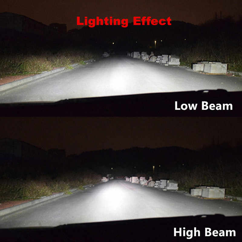 Inlong X70 2Pcs H4 H7 H1 9005 9006 Car LED Headlight Bulbs H11 H8 H9 D1S D2S D4S hp Led Lamp Chip Auto Headlamp Fog Lights 6000K