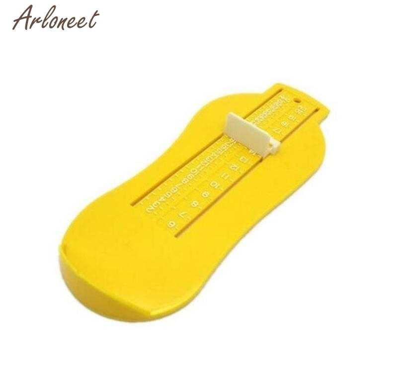 2018 รองเท้าฤดูร้อนเด็กเครื่องมือวัดขนาดรองเท้าเด็กทารกอุปกรณ์ชุดไม้บรรทัด JAN23