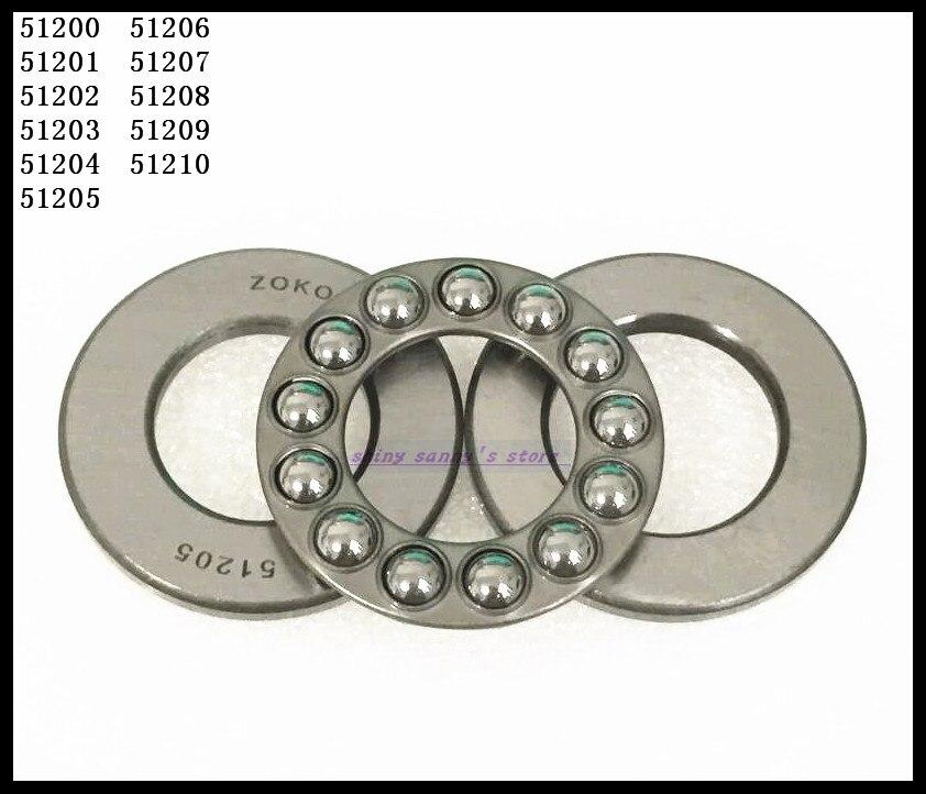 1pcs  51207 35mm x 62mm x 18mm Axial Ball Thrust Bearing Brand New 2pcs lot 51206 30mm x 52mm x 16mm axial ball thrust bearing brand new