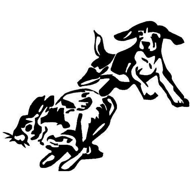 Popular Rabbit Hunting DogsBuy Cheap Rabbit Hunting Dogs Lots - Sporting dog decals
