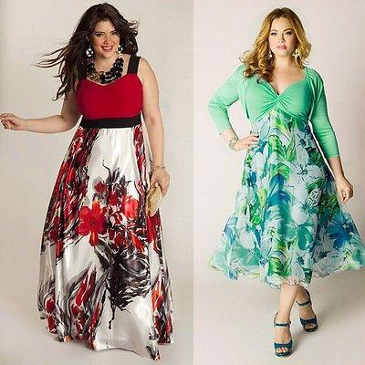 Плюс размер 3XL Сексуальное Женское летнее платье без рукавов с принтом Бохо Макси длинное вечернее пляжное платье, сарафан специально для п...