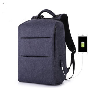 805 New travel duplex computer backpack men's schoolbag leisure waterproof USB men's backpack