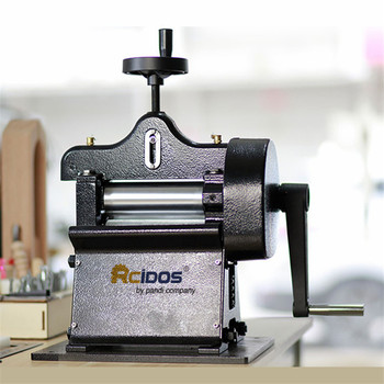 8116 Leather paring machine,Manual swing leather skiver,hand leather peel tools,vegetable tanned leather splitter max 10cm width machine tool