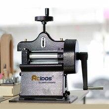 8116 máquina de aparamento de couro, skaver de couro manual do balanço, ferramentas de casca de couro da mão, divisor de couro curtido vegetal largura máxima de 10cm