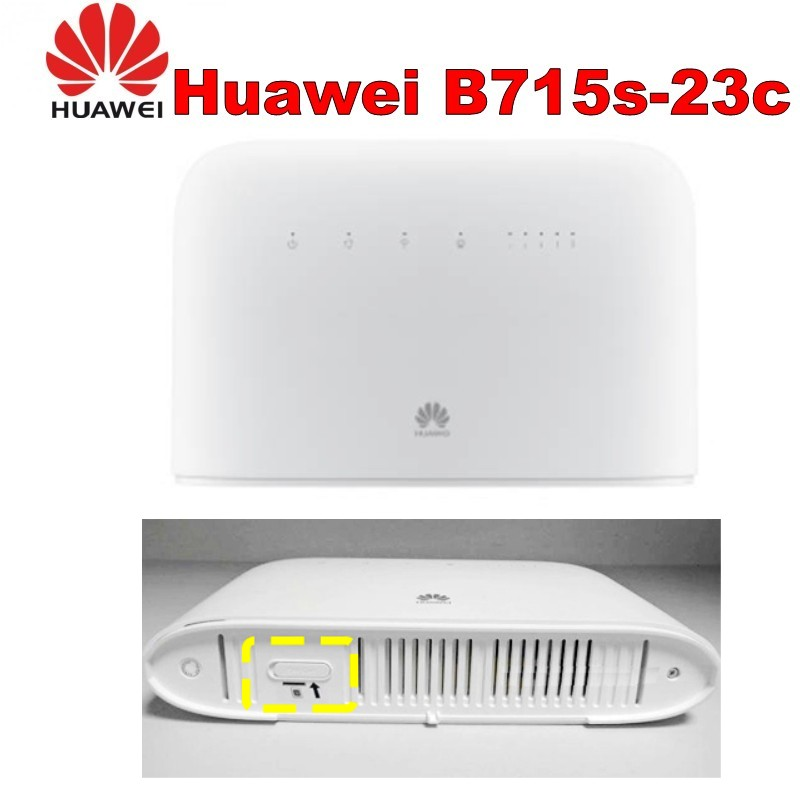 Лот 100 шт. huawei B715 B715s 23c 4 г LTE Cat.9 Беспроводной маршрутизатор