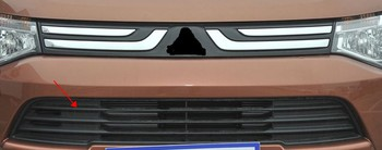 Front Grill Center Grille For Mitsubishi Outlander 2013-2015 1PC