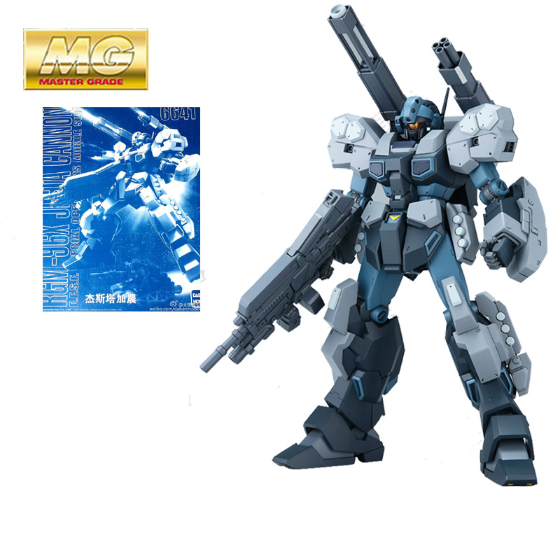 New Anime Daban unicorn Mobile Suit 1/100 MG RGM-96X Jesta Gundam Model Robots Action Figure Assembled Toy Kids Christmas Gift свеча ароматизированная wax lyrical ревень с имбирем 540 г