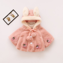 Ircomll Newborn Baby Girl Warm Jacket Cotton Hooded Fleece