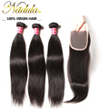 Peruvian Straight Hair F/T/M Part Peruvian virgin Hair With Closure Pervian Virgin Hair Straight Hair With Lace Closure VIP004