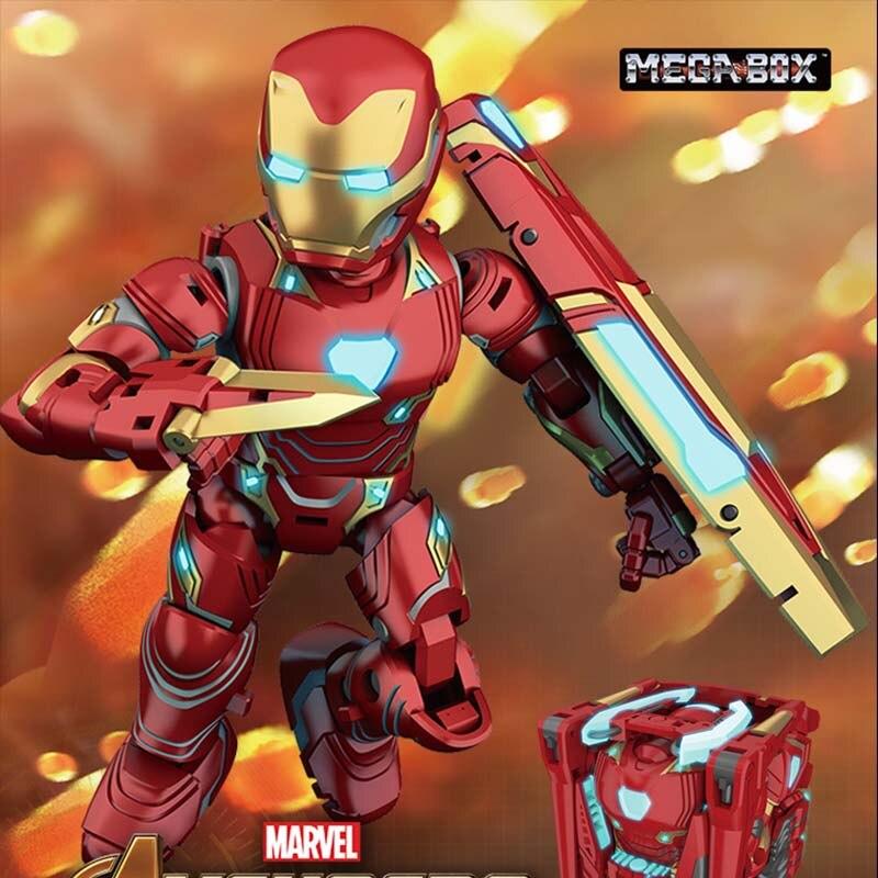 Iron Man MK50 Tamashi scène Marvel SHF Figuarts Avengers Infinity War Action Figure Iron Man Mark 50 modèle de collection jouet cadeau