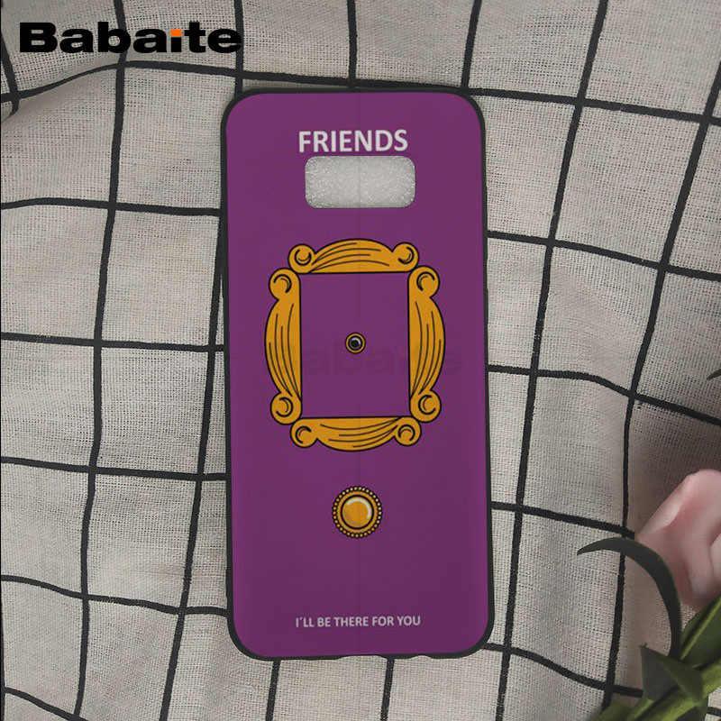 Centralny Perk przyjaciele kawy program telewizyjny jak robisz etui na telefon do Samsung Galaxy s8 s9 plus uwaga 8 note9 s7 s6 okładka Babaite
