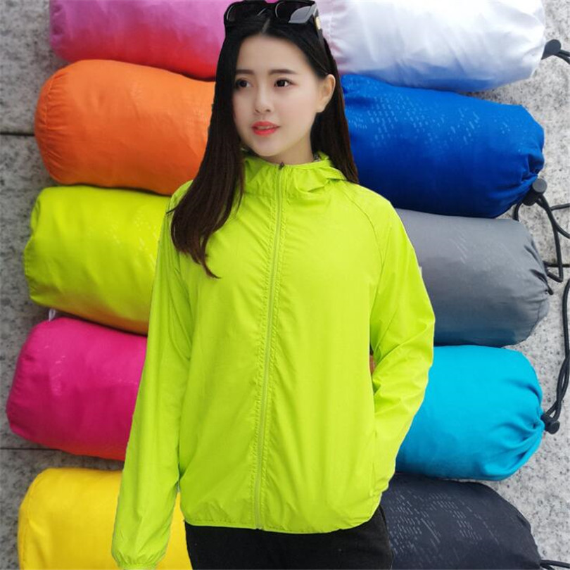 YRRETY Spring Autumn Fashion Hooded Windbreaker Jacket Zipper Pockets Casual Long Sleeves Feminino Coats Outwear Lady XS-XXXL