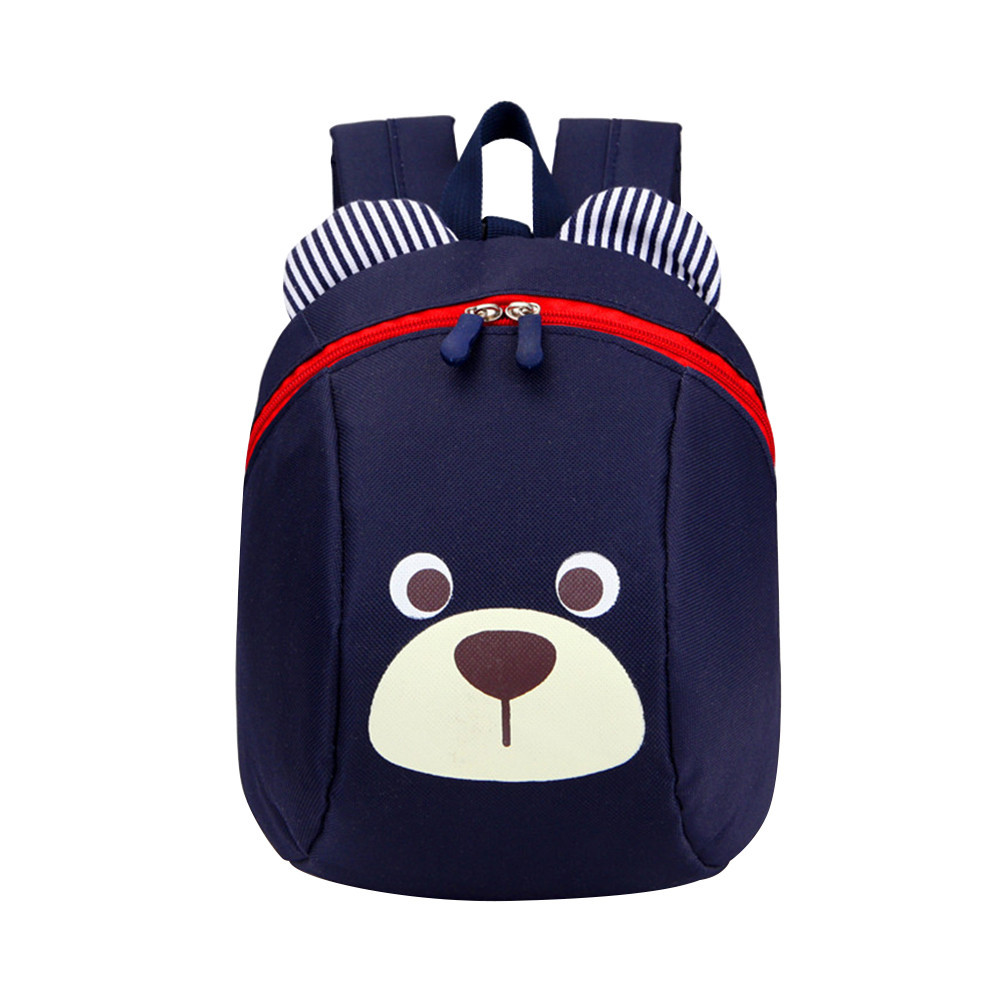 Kindergarten Backpack Bag School-Bag Baby Cartoon-Bear Cute Anti-Lost Fashion Unisex