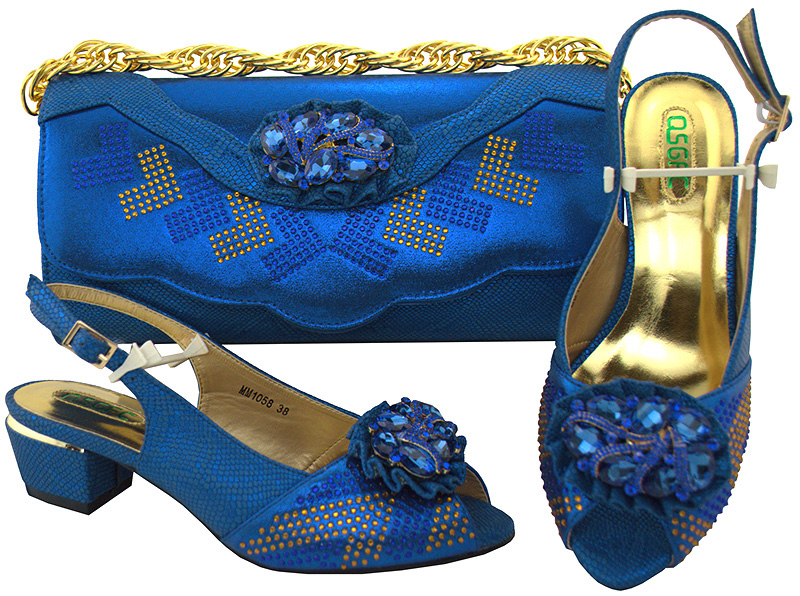 Italian Design Shoes With Matching Bag Set For Wedding Party New Arrival Fashion Women Pumps Shoes and Bags MM1058 italian design royal blue shoes with matching bag set for wedding party nigeria new fashion women pumps shoes and bags mm1060