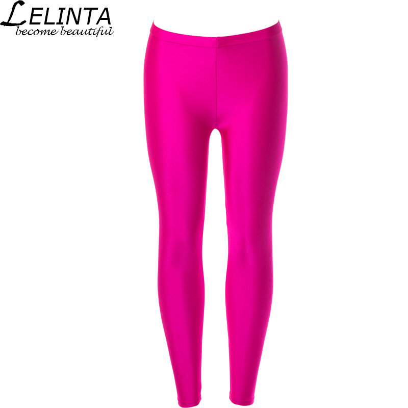 LELINTA Solid Color Anti-pilling Yoga Pants High Waist Compression Elastic Tights Rose Red Color BodyBuilding Exercise Clothers ...