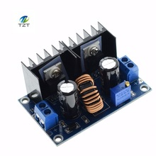 1PCS XL4016 PWM Adjustable 4-36V To 1.25-36V Step-Down Board Module Max 8A 200W DC-DC Step Down Buck Converter Power Supply
