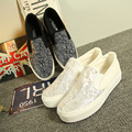 New Arrival Fashion  Mesh Casual Shoes  Slip-on Canvas Shoes Breathable Shoes Summer Loafers Size35~39