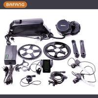 48V 750W C965 BBS02 8fun Bafang Mid Crank Drive Motor Ebike Kit 48V 11 6Ah Lithium