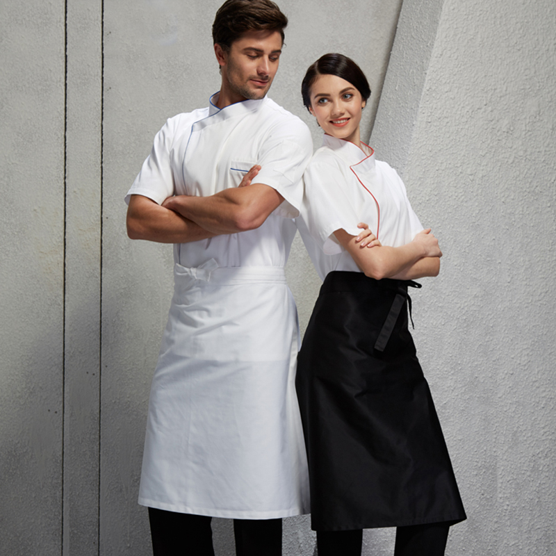 Chef Aprons Men U0026 Women Restaurant Restaurant Hotels In The Wai Wai Kitchen  Half Skirts Catering Work Aprons Apron In Aprons From Home U0026 Garden On ...