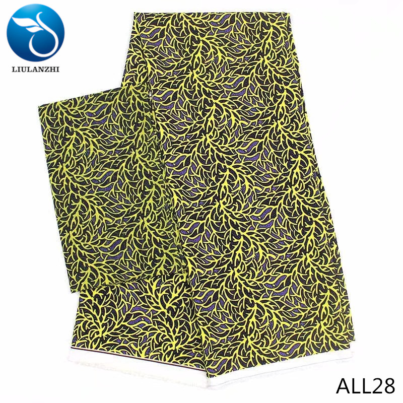 LIULANZHI French fabrics New arrival african modal cotton fabric french chiffon lace wholesale 6yards/lot ALL26-ALL36