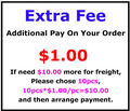 This is The Link To Pay The Extra Fee Custom size Pay Shipping Cost and any other Fee