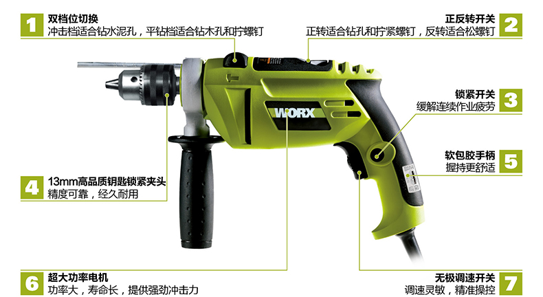 WU307 drill good quality electrical drill for home decoration use at good price