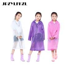 2019 Hot EVA Transparent Fashion Waterproof Kids Raincoat For Children Rain Coat Rainwear/Rainsuit Student Poncho Drop Shipping