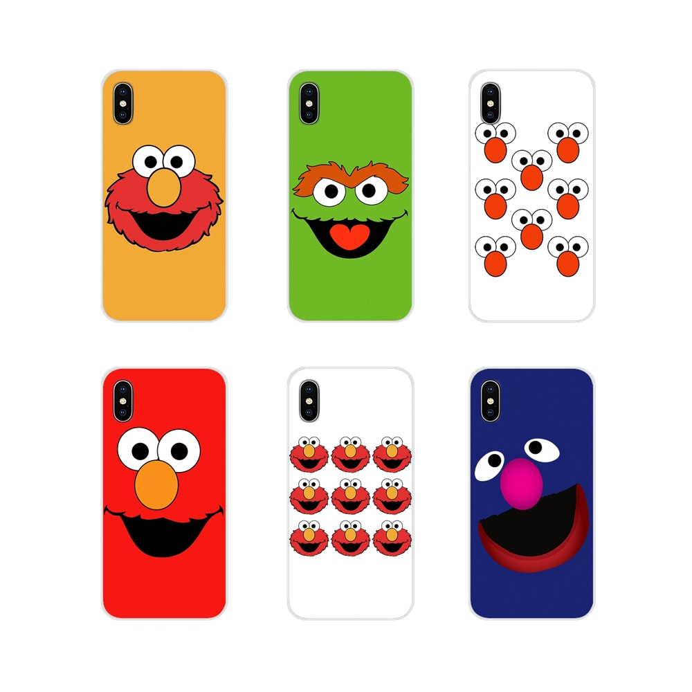 Phone-Cases-Covers Elmo-Style-Accessories Xiaomi Redmi Oneplus 3 6A Note For MI8 Pro