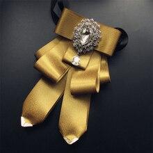 Vintage Mens Bow Tie 2019 New Bowtie Pajaritas Diamond Wedding Ties For Men Accessories Necktie Butterfly Cravate Pour Homme