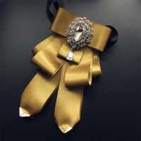 Vintage hommes noeud papillon 2019 nouveau noeud papillon Pajaritas diamant cravates de mariage Pour hommes accessoires Cravate papillon Cravate Pour Homme