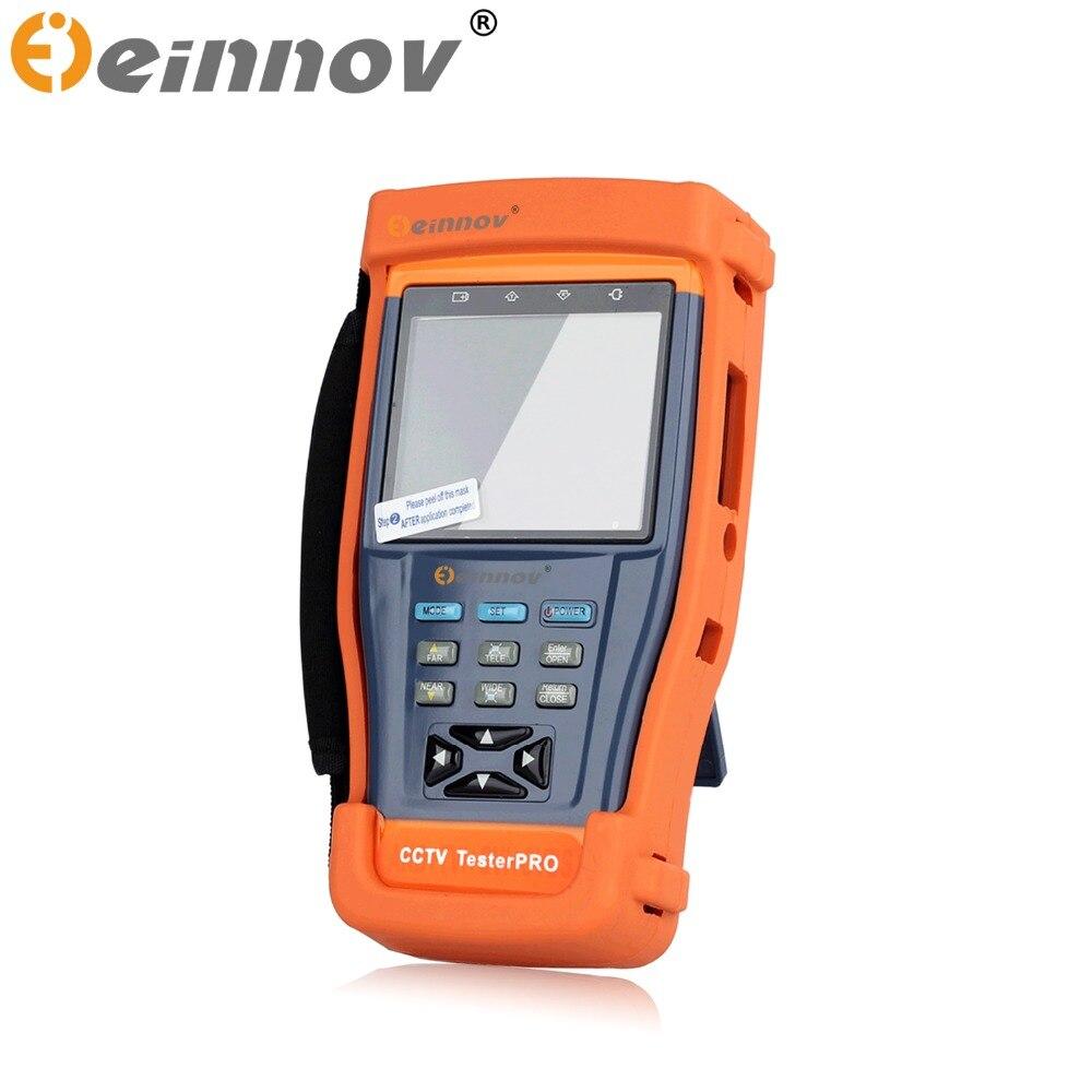 bilder für EINNOV CCTV Überwachungskamera tester monitor HD AHD CVI TVI CVBS analog kameras Videoüberwachung prüfung ptz-steuerung 12 V ausgang