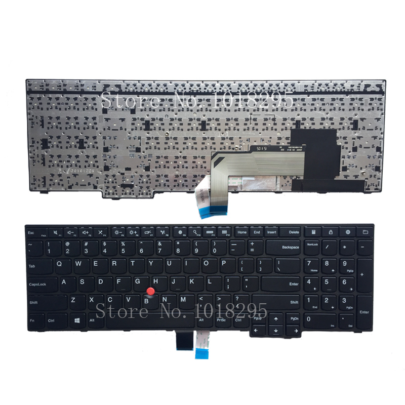 New Original for IBM Lenovo Thinkpad E550 E550C E555 E560 E565 Keyboard Teclado US English  00HN000 00HN074 00HN037 new original laptop keyboard for lenovo thinkpad t460p t460s us keyboard english with backlit backlight 00ur395 00ur355