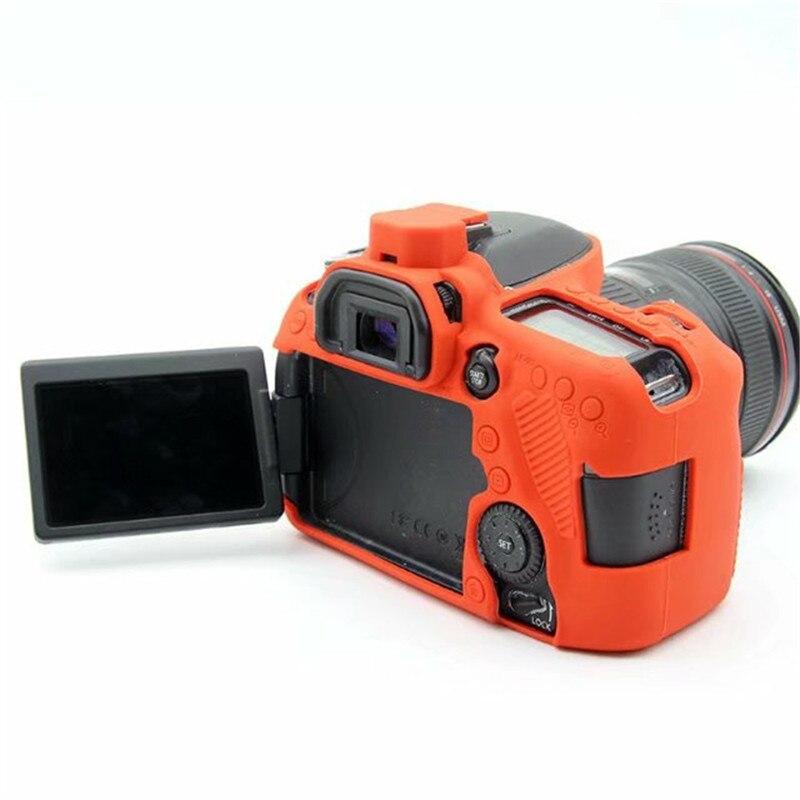 Hochwertigem Weichem Silikon Kamera Abdeckung für Canon EOS 80D Gummi kamera Fall Haut für Canon 80D SLR Kamera Zubehör Objektiv Sauber